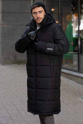 чоловіча куртка нижче колін
