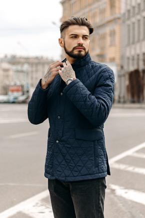 мужские куртки однобортные