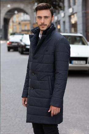 длинная осенняя мужская куртка