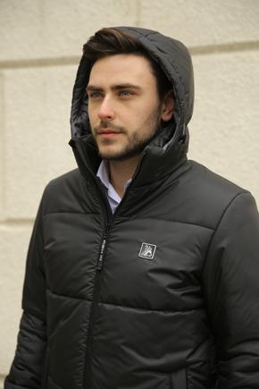 мужские куртки с капюшоном