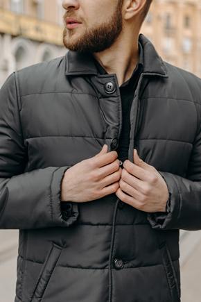 чоловічі куртки з відкладним коміром