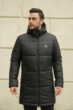 мужская зимняя стеганая куртка