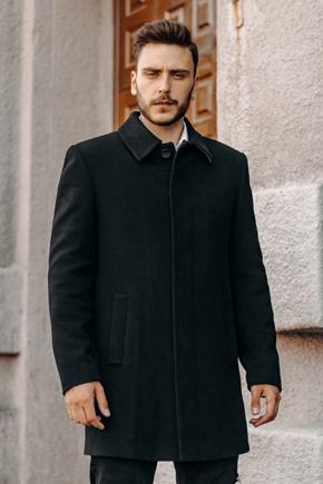 мужское пальто больших размеров
