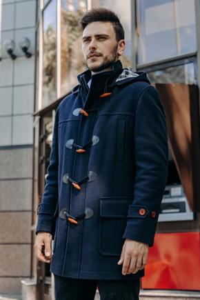 пальто дафлкот чоловіче