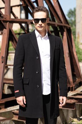 чоловіче пальто класика