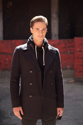 короткое пальто мужское