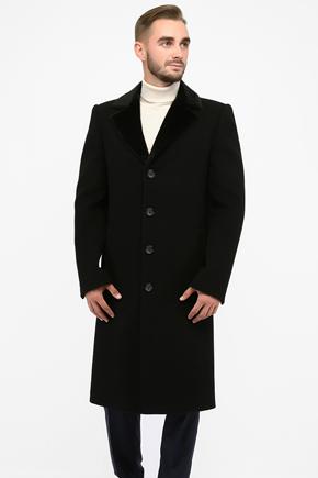 пальто ниже колена мужское