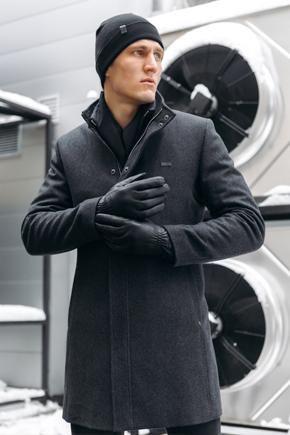 осеннее пальто мужское