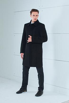 чоловічі прямі пальто