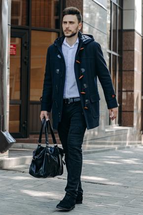 мужские пальто с капюшоном