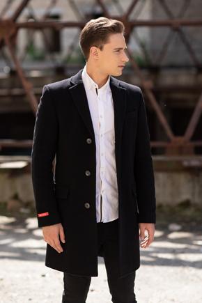 шерстяное пальто мужское