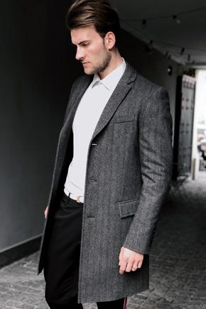 твидовое пальто мужское