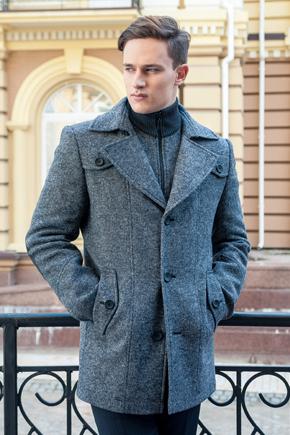 пальто короткое зимнее мужское