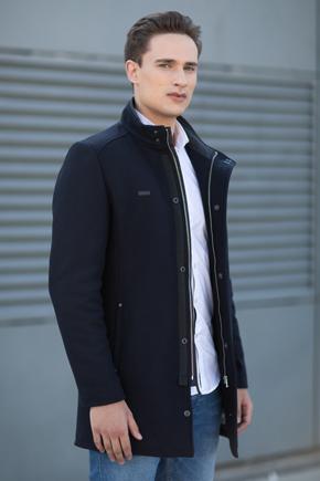 мужское зимнее пальто шерстяное