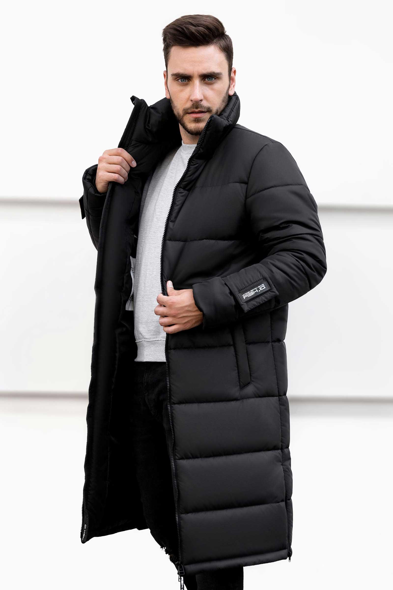 Купить мужскую утепленную куртку Николаев - фото