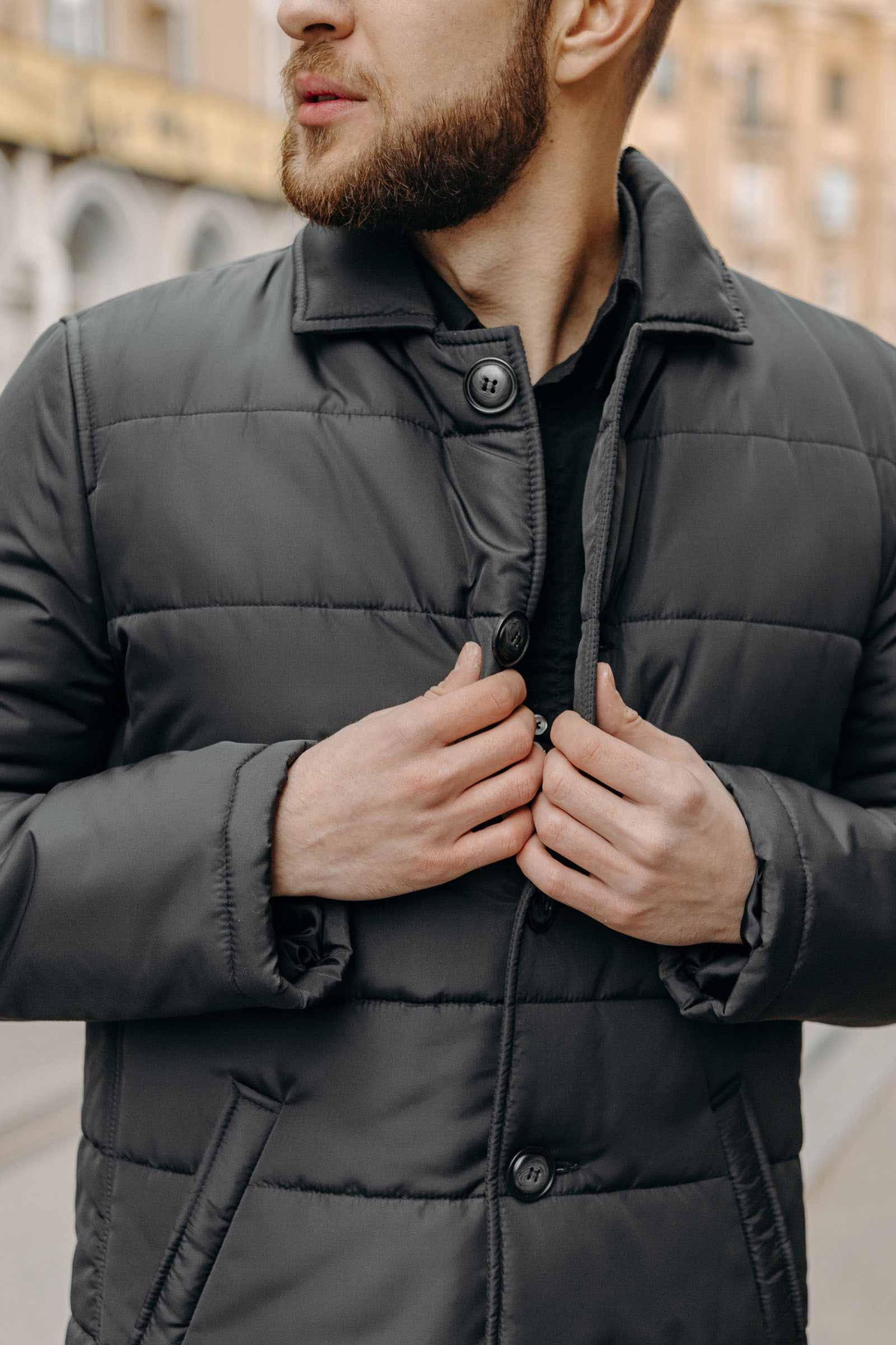 Купить мужскую утепленную куртку Запорожье - фото