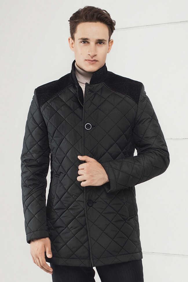 Купить мужскую стеганую куртку Николаев - фото