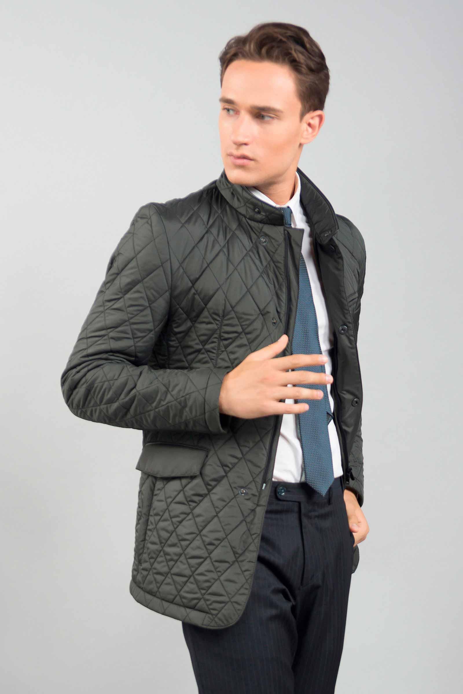 Купить мужскую стеганую куртку Львов - фото