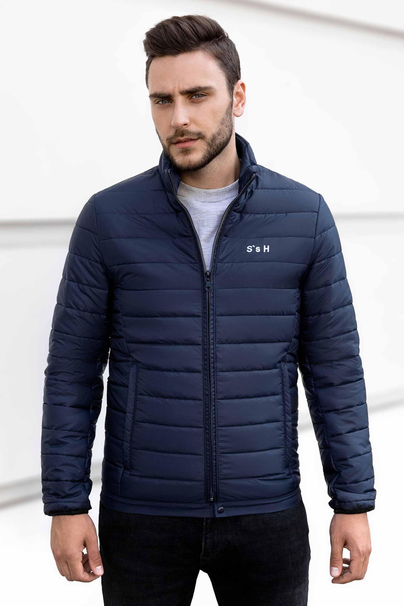 Мужская приталенная куртка Николаев - фото