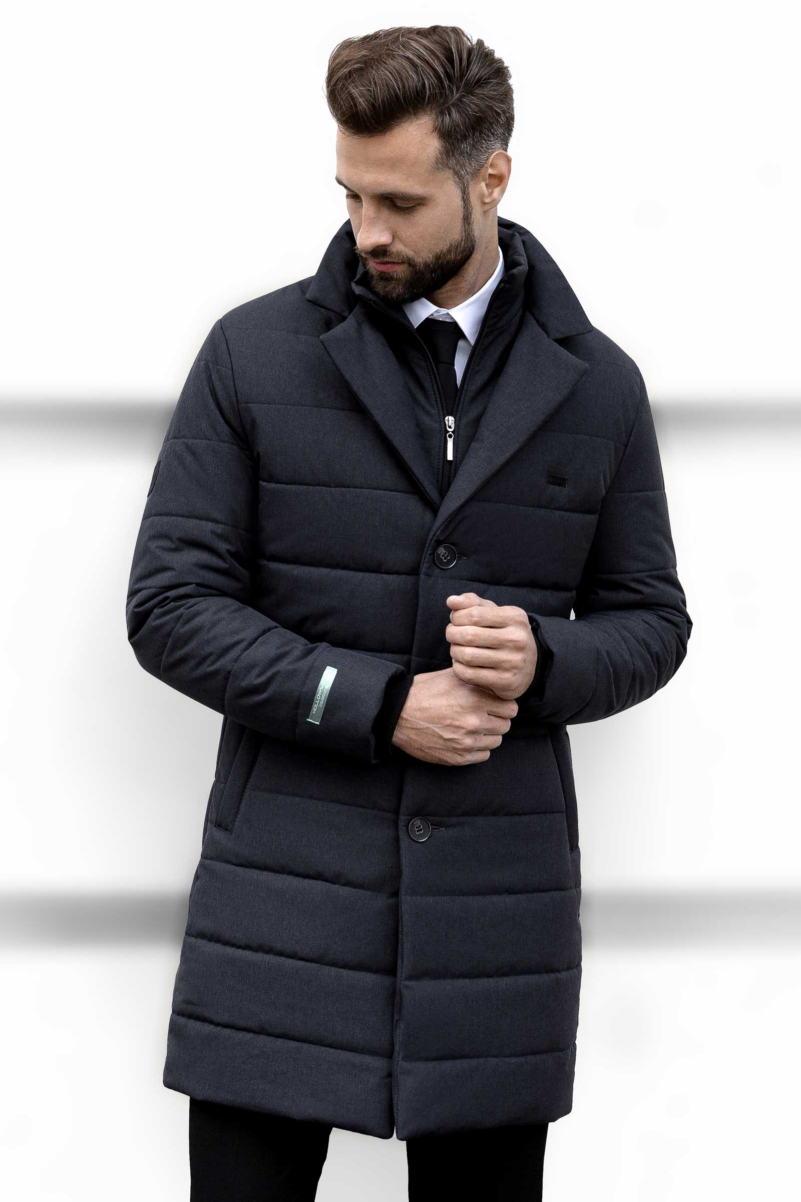 Мужская утепленная куртка - фото