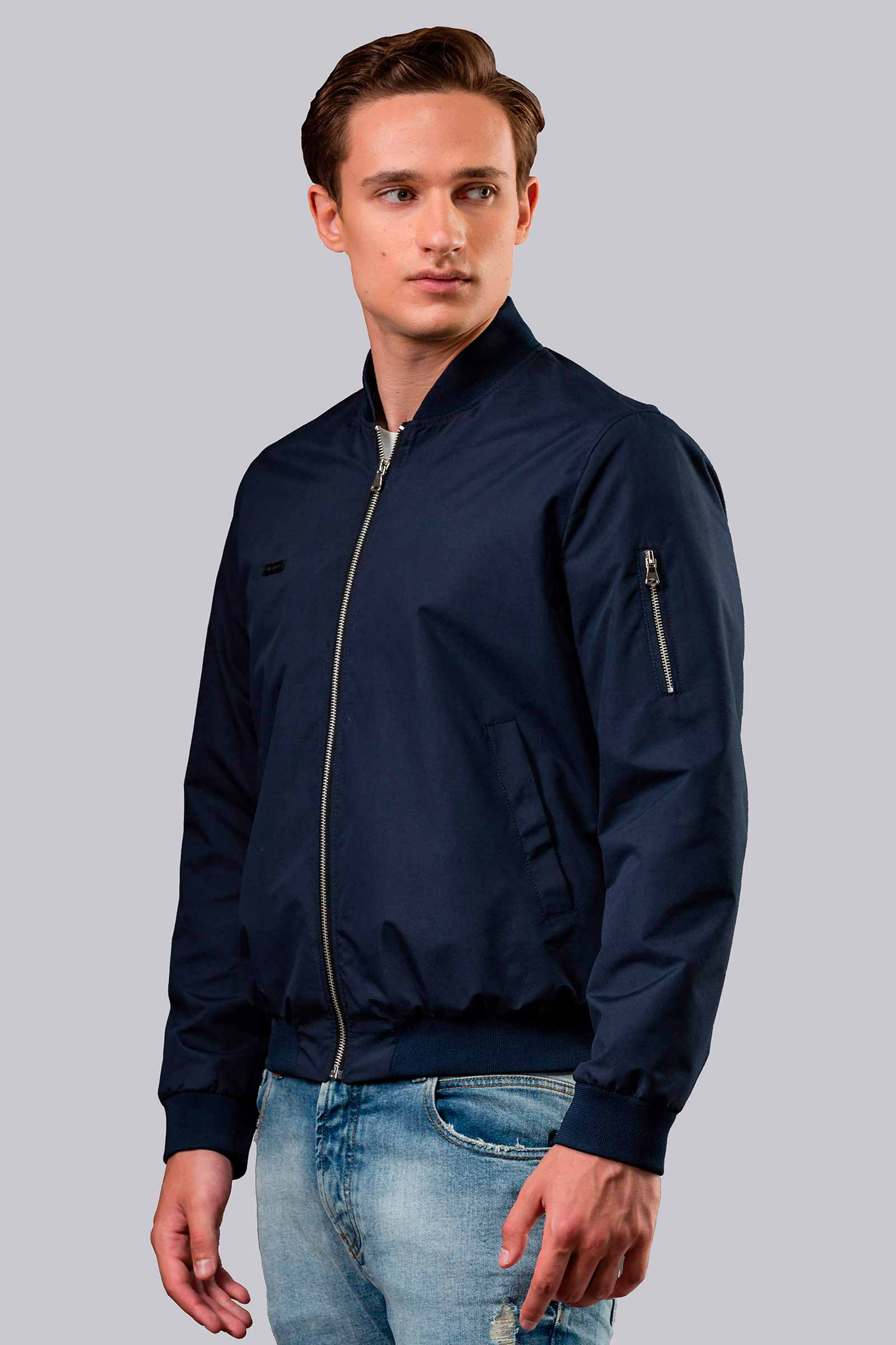 Мужские куртки летние синие