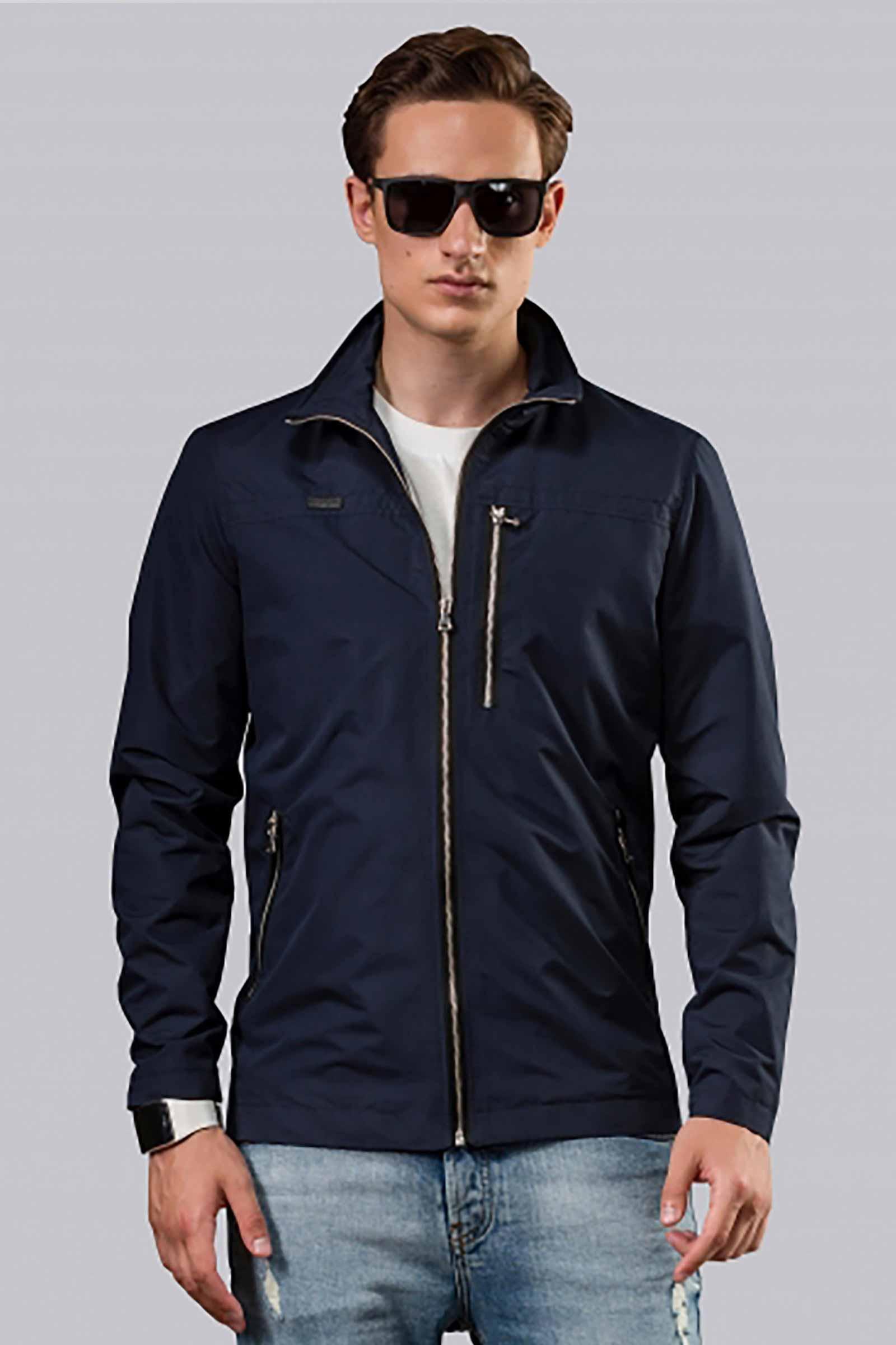 Купить мужскую синюю куртку Харьков - фото