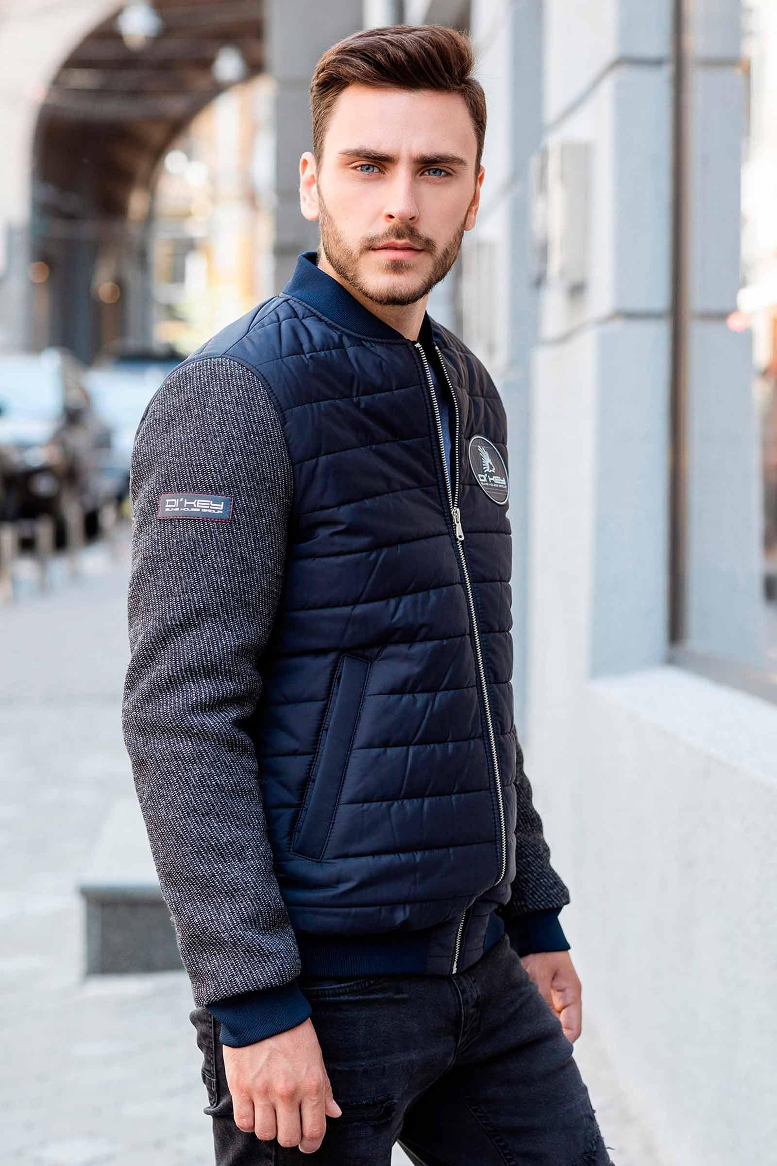 Осенняя мужская куртка Николаев - фото