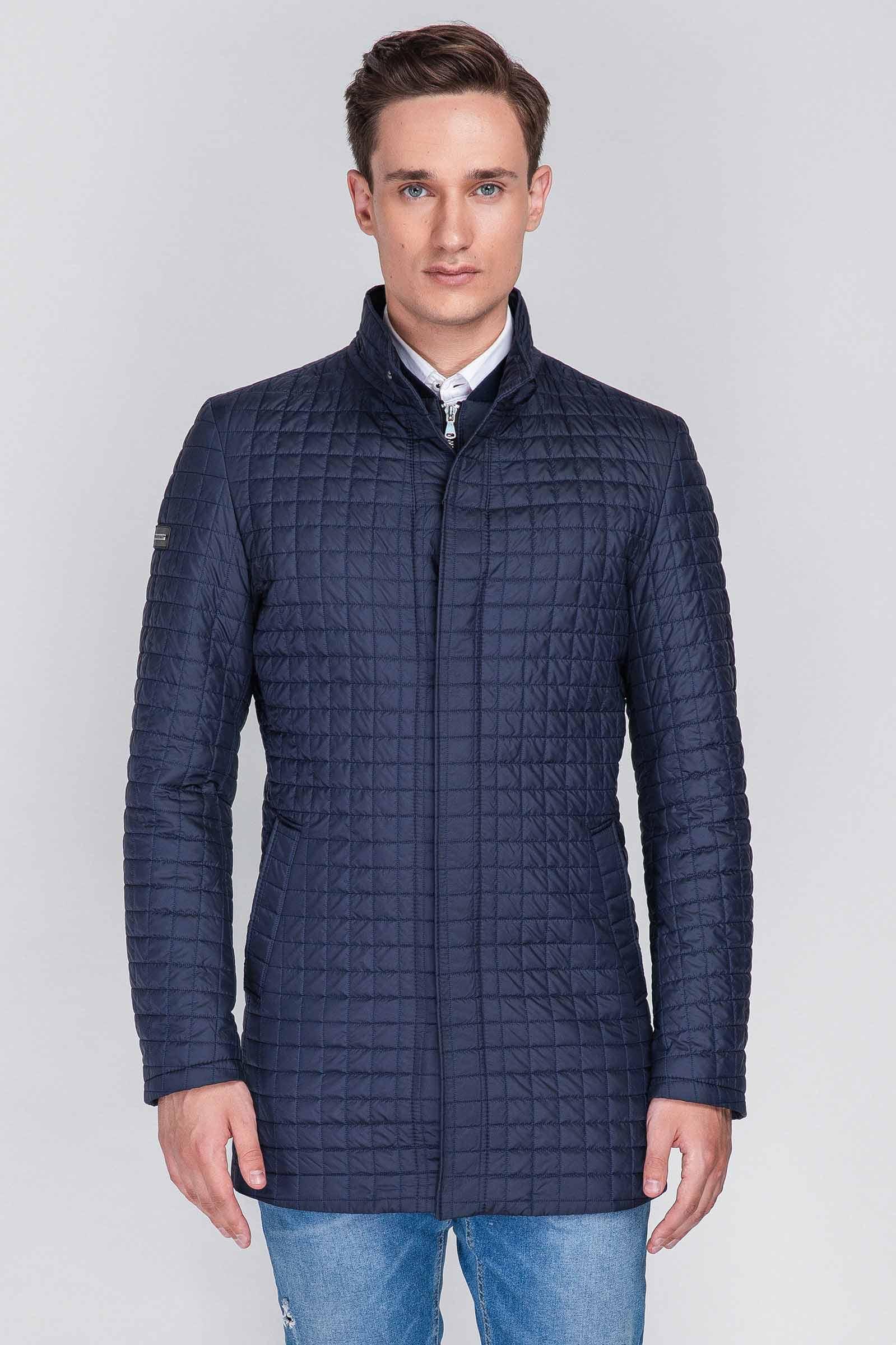 Купить мужскую синюю куртку Днепр - фото