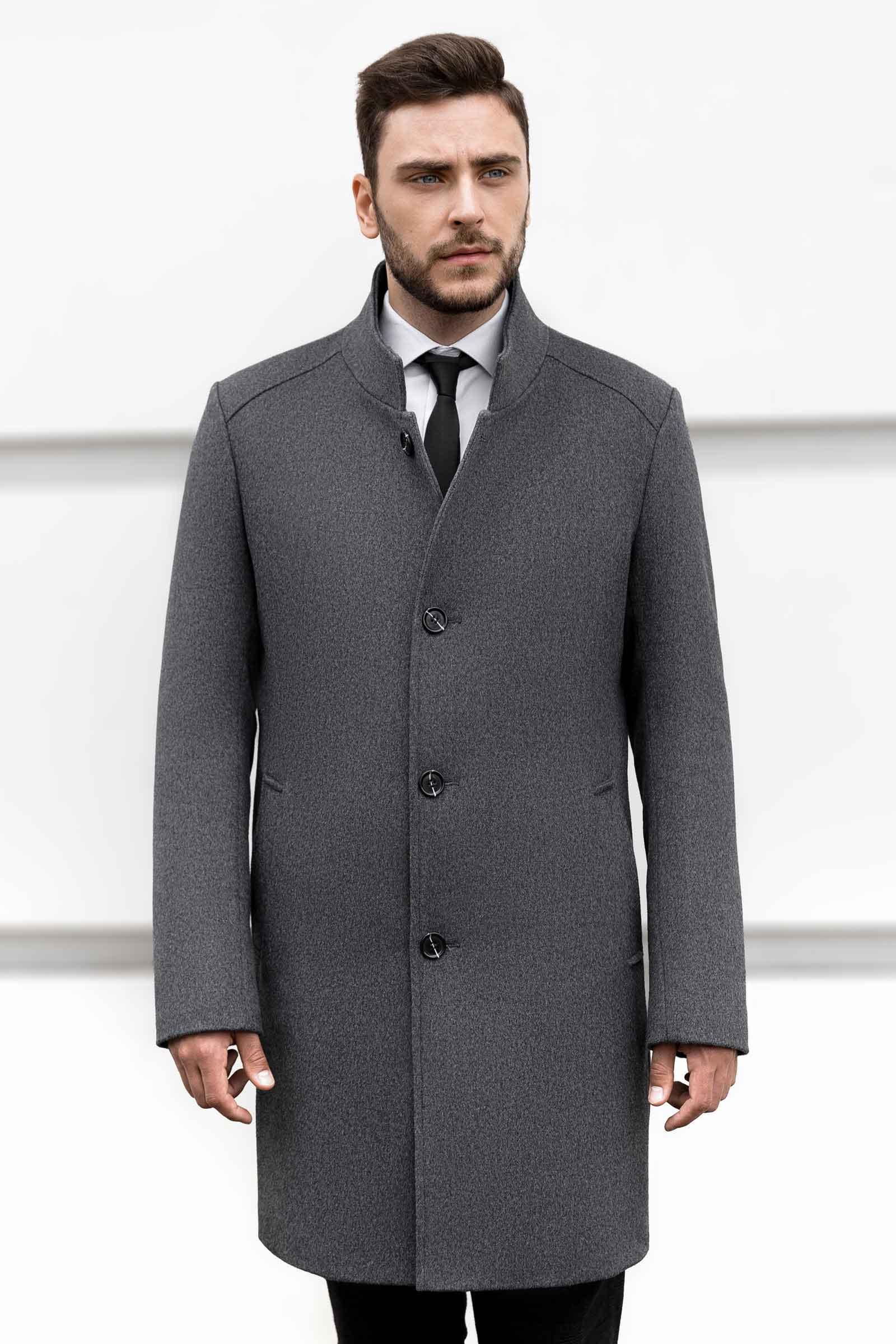 Красивое мужское пальто на весну