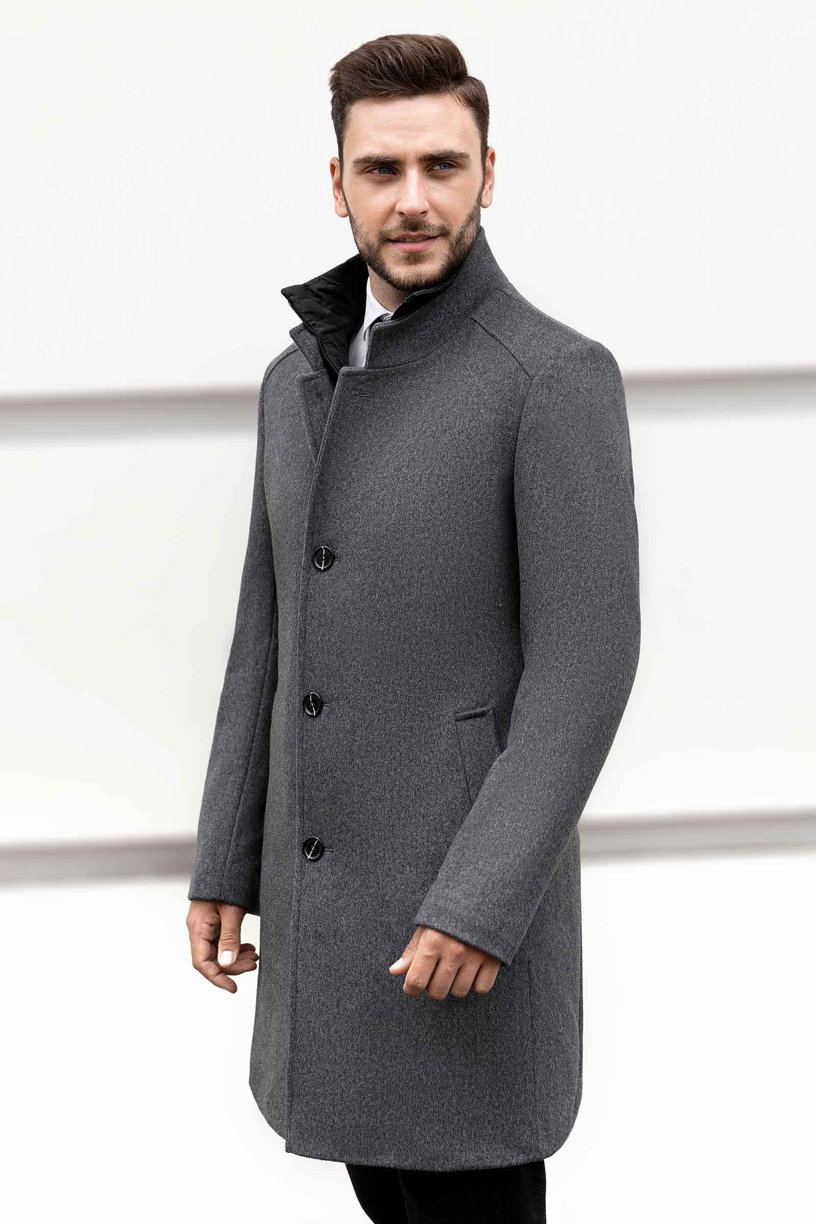 Мужское пальто со скидкой