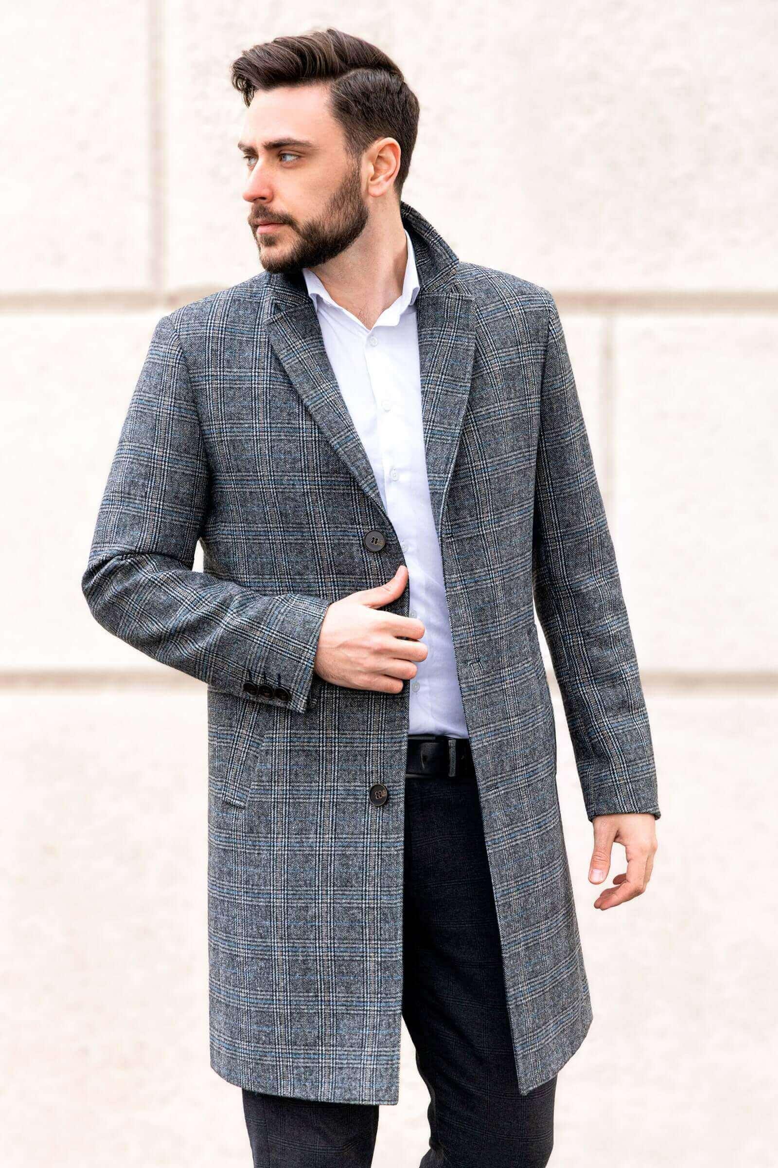 Новые модели мужских пальто