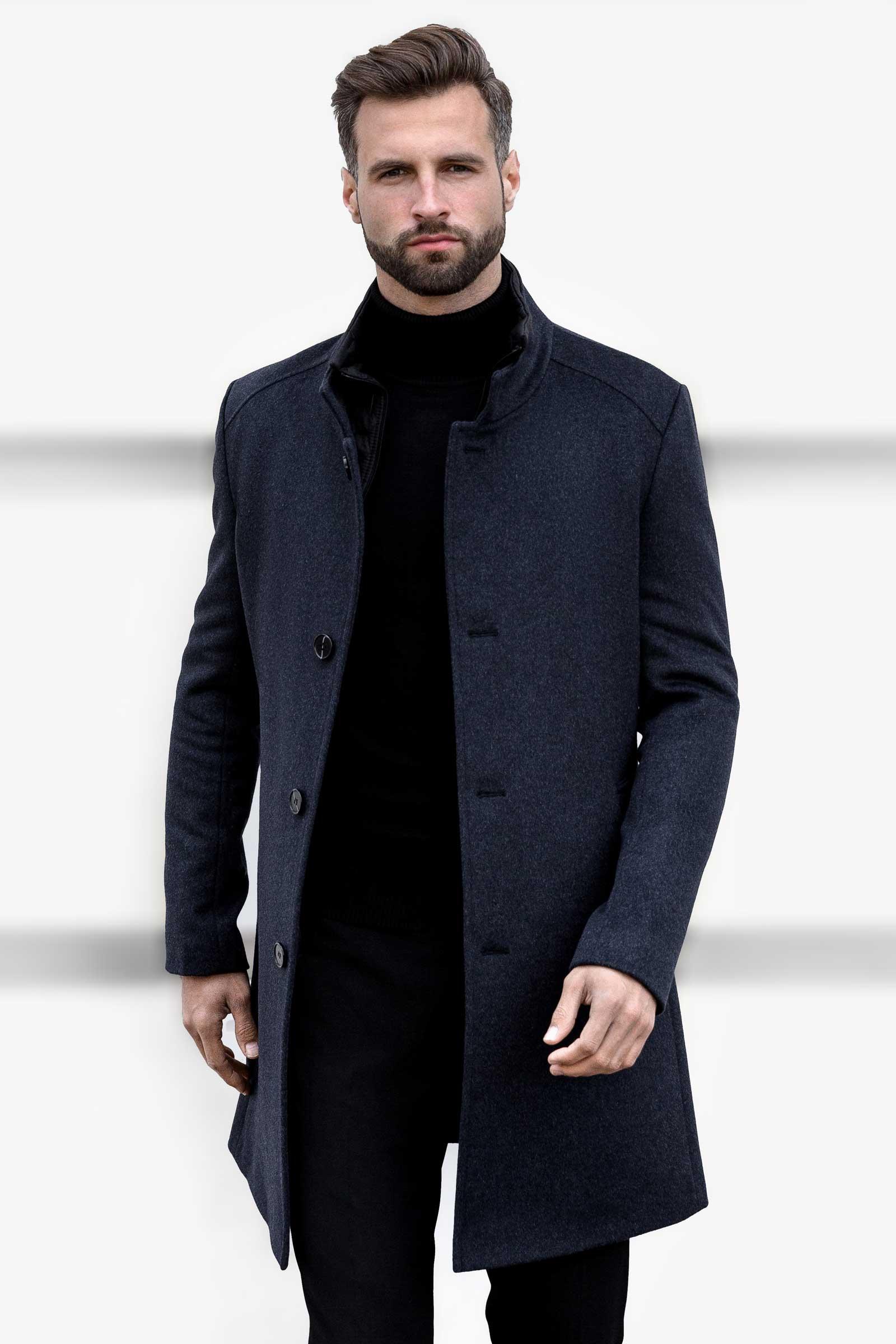Итальянское пальто зимнее мужское