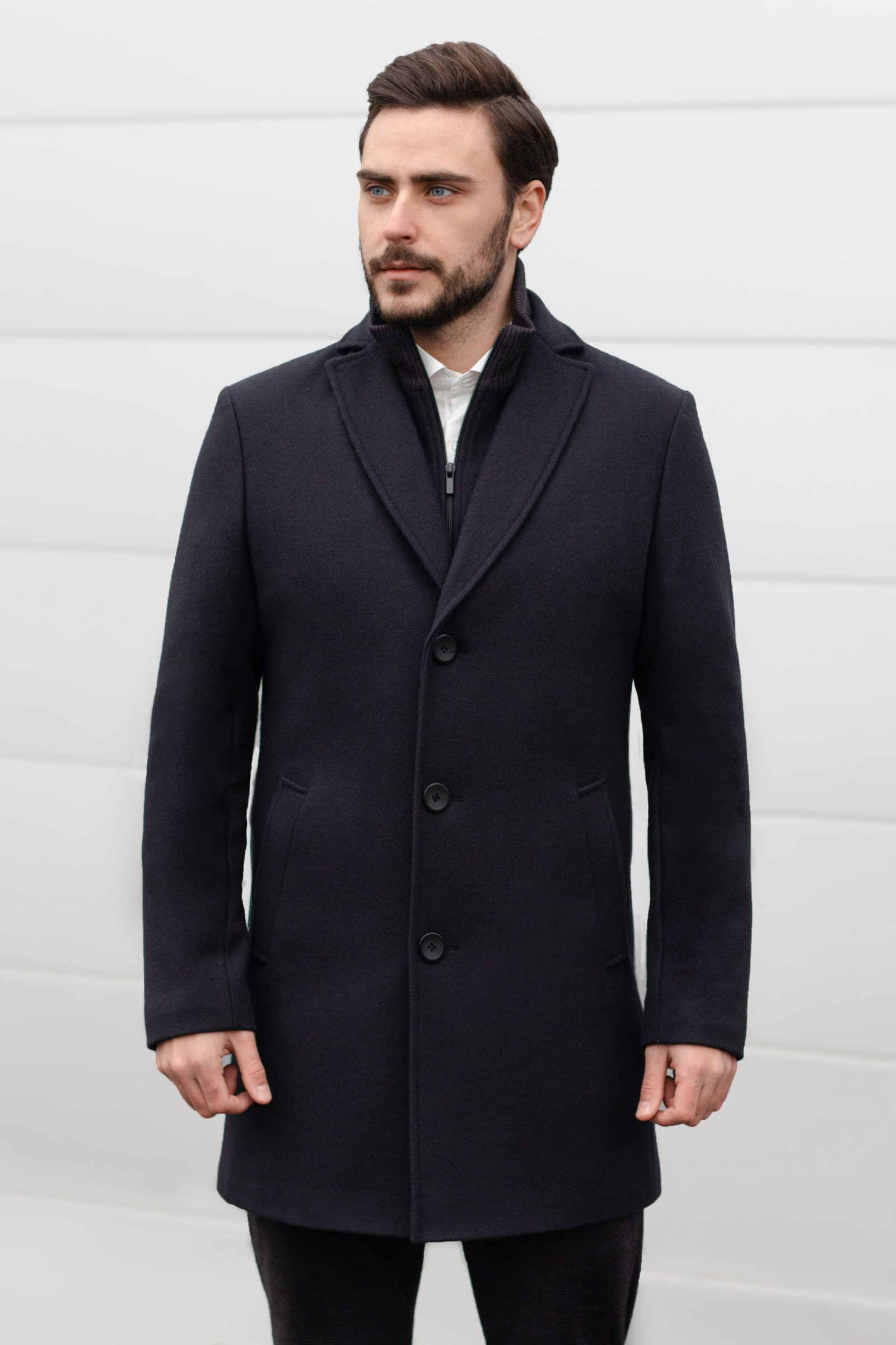 Модели мужских пальто весна